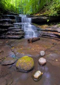 Feeder Fall - Pixley Falls