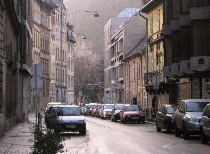 Buda streets.